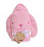 Hooded Towel - Bunny Pink