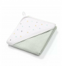 Hooded Towel Terry - Drops